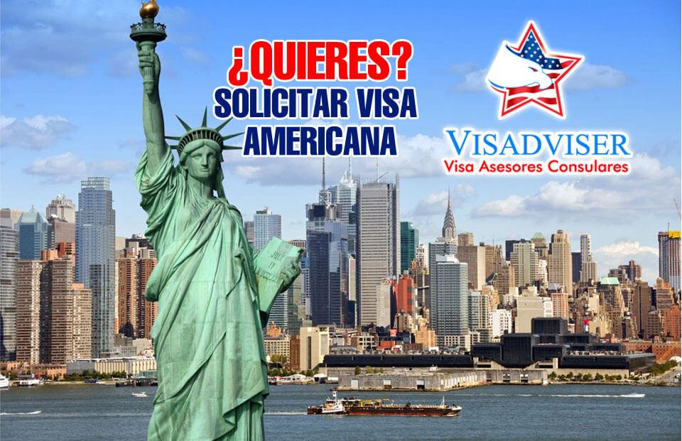 solicitud de visa americana